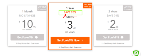 PureVPN Discount Coupon Code July 2019: Get Upto 70% Off Now