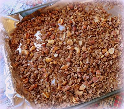 Chocolate Cinnamon Granola