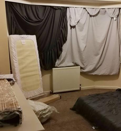 before radiator update.