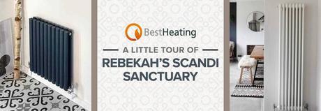 Rebekah's Scandi sanctuary blog banner.