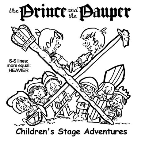 Case Study: Theater Logo: The Prince & The Pauper