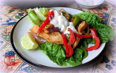 Turkey Fajitas