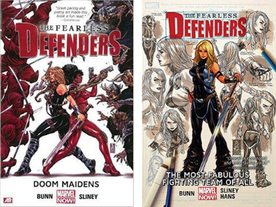 Mallory Lass reviews Fearless Defenders by Cullen Bunn, illustrated by Will Sliney and Stephanie Hans.