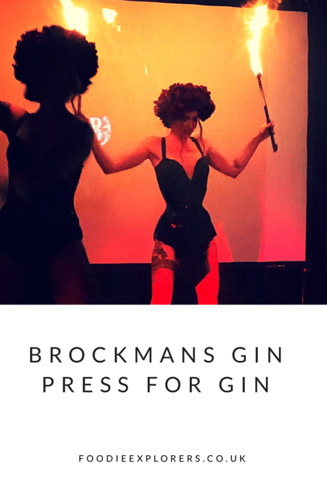Press for Gin with Brockman's