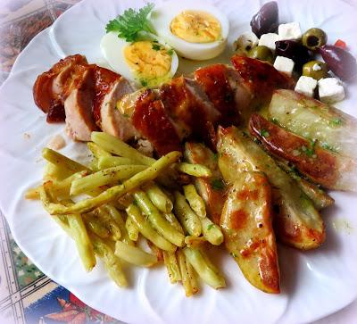 Chicken Nicoise Salad Platter