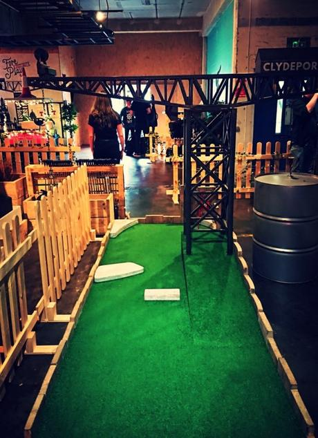 Fore Play Crazy Golf, Glasgow