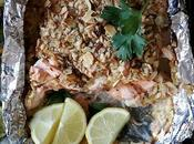 Thai Mango Baked Salmon with Roasted Veggies
