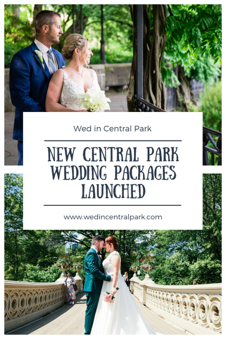 New Customizable Packages Available for Weddings in Central Park and New York