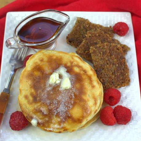 Buttermilk Blueberry Buckwheat Pancakes #BlueberryWeek
