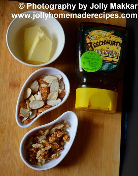 Honey Almond Brittle