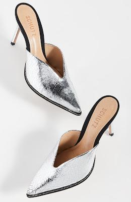 Shoe of the Day   Schutz Heliconia Point Toe Mules