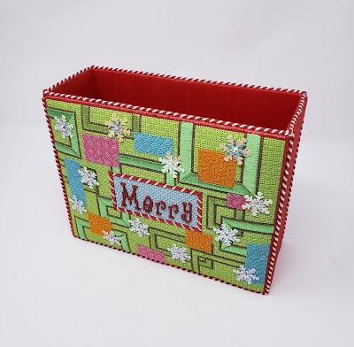 Mod Merry Class Coming Up In October At The Needlepointer!