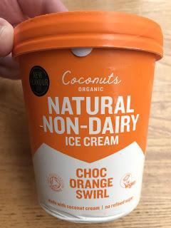 Coconuts Organic Choc Orange Swirl Non Dairy Ice Cream