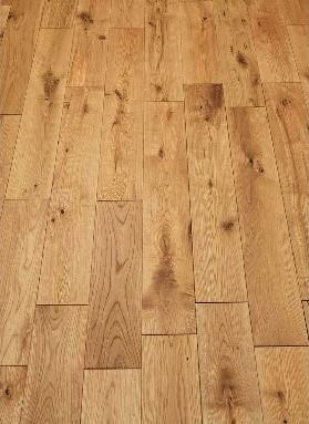 Brushed and Oiled Wood Flooring