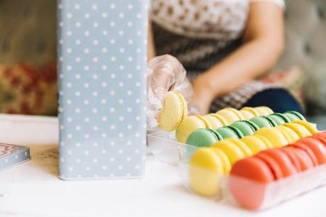 Incredible Macaron Boxes and Packaging and Point of Sale Material