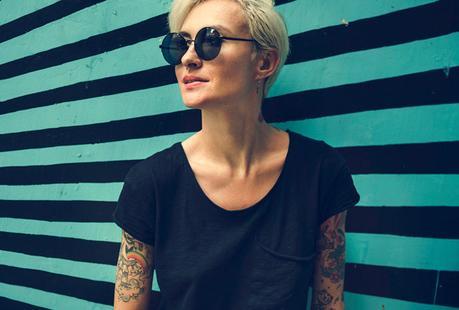 Women with Tattoos posing