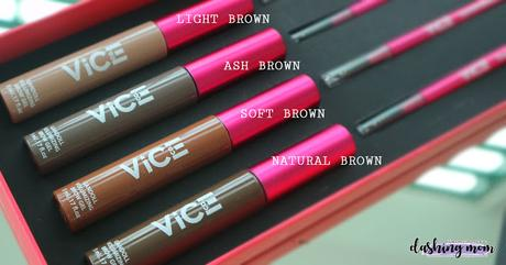 Gandoll Volumizing Brow Gel Review + Swatch   Vice Cosmetics