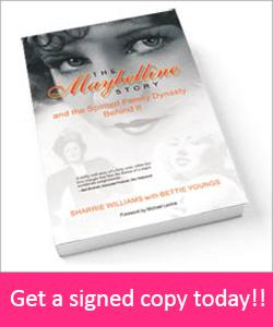 Order a signed copy of the Maybelline Story directly from me