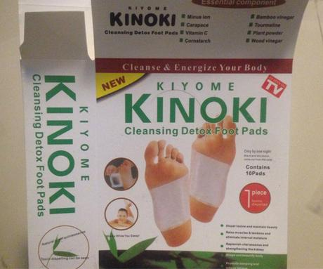 The Kinoki cleansing foot pads (box)