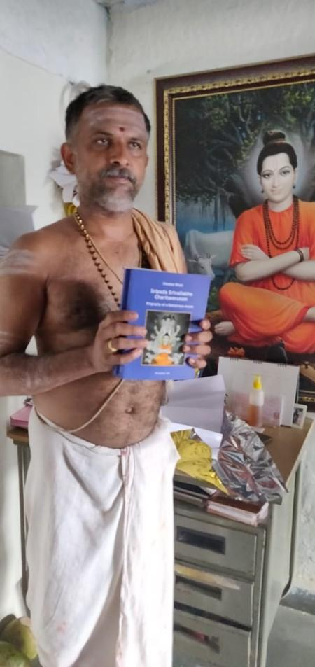 "The Sripada Biography Reaching its ""Home"" in Kuruvapur"