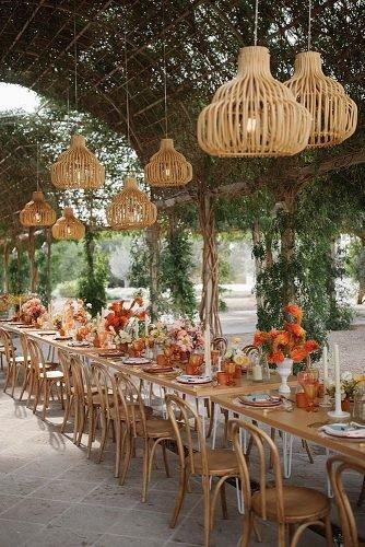 ranch wedding wedding reception