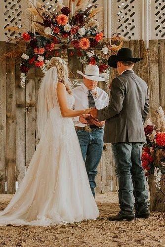 ranch wedding wedding ceremony decor