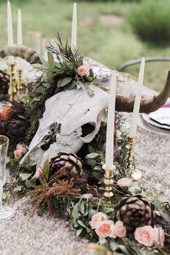 ranch wedding wedding table decor