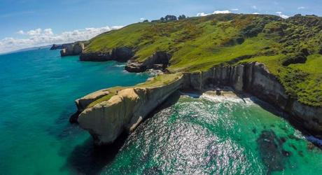 Tunnel Beach near Dunedin