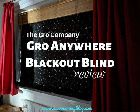 Gro Anywhere Blind review – 1st night | Kids in a Heatwave