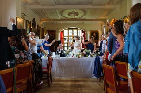 a toast to the groom