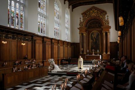 the vicars address in trinity college chapel