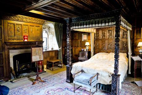 henry viii bedroom hever castle