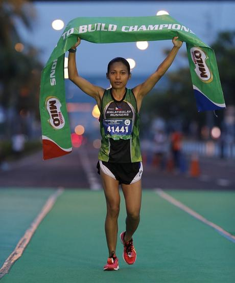 Nerza and Hallasgo wins National MILO Marathon Manila Elims
