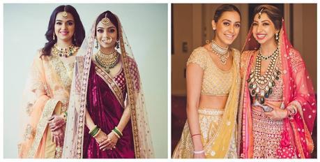 Stunning Indian Wedding Dresses for Bride's Sister