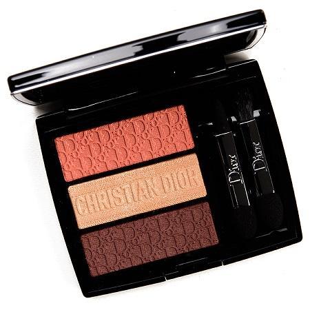 Dior Coral Canvas 3 Couleurs Tri(o)blique Palette