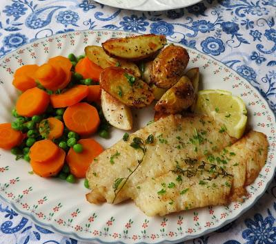 Sole Fillets with Lemon & Thyme