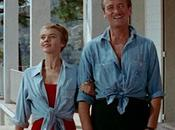 Bonjour Tristesse: David Niven's Chambray Shirt Swim Trunks