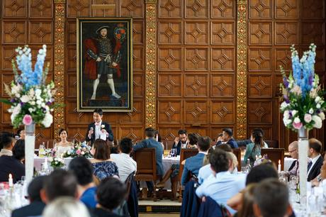speeches at a trinity college wedding