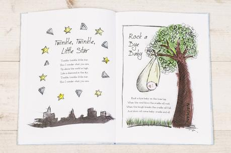 The Personalised Nursery Rhymes Book from In The Book.co.uk