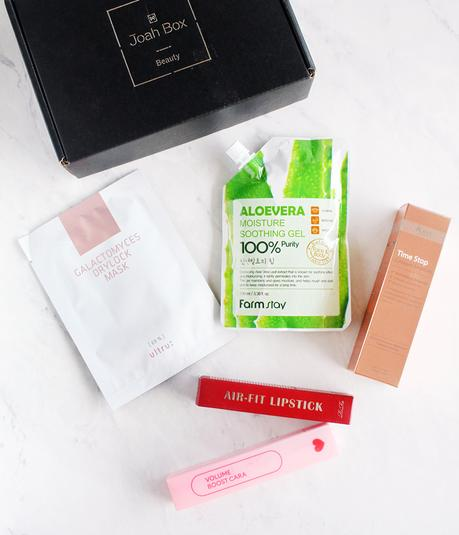 JoahBox, JoahBox Review, JoahBox K-Beauty Subscription Box, Korean Beauty Box, K-Beauty Box