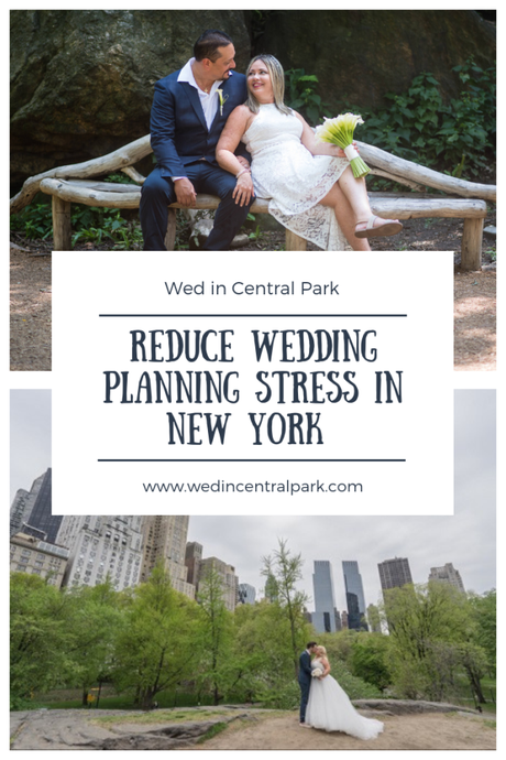Ways to Reduce Wedding Planning Stress when you get to New York