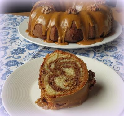 Coffee & Cardamom Bundt Cake