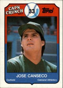 Canseco and Cap'n Crunch