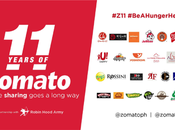 Zomato's 11th Anniversary Birthday with Bang!