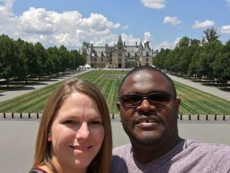 Alvin and Mallary Brown at Biltmore Estate - Asheville, North Carolina