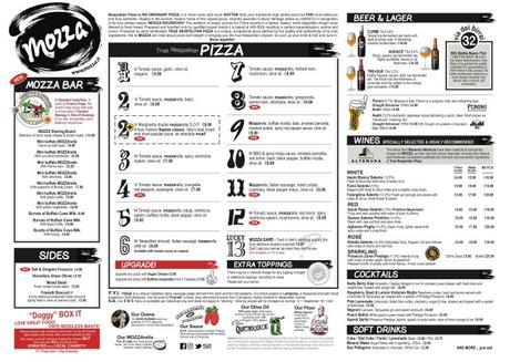 Food Review: Mozza, 39 Renfield St, Glasgow