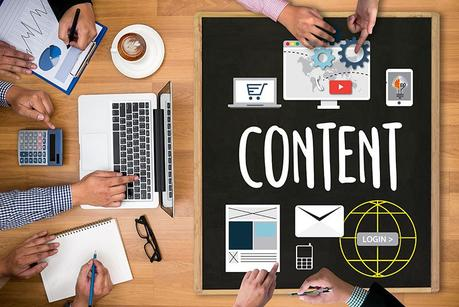 Content marketing, online concept , Content Data Blogging Media Publication Content marketing , Content Strategy digital content and online webinar , Media Global Daily News Content Content marketing