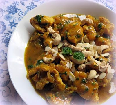 Curried Chicken Saute