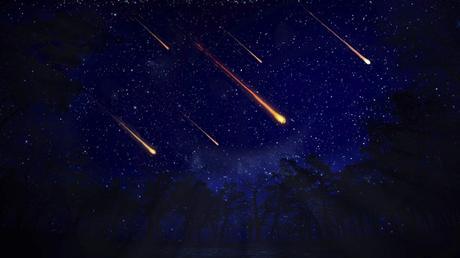 Shooting  Stars..