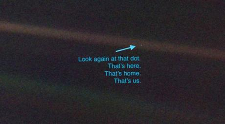 The Meaning of the Pale Blue Dot